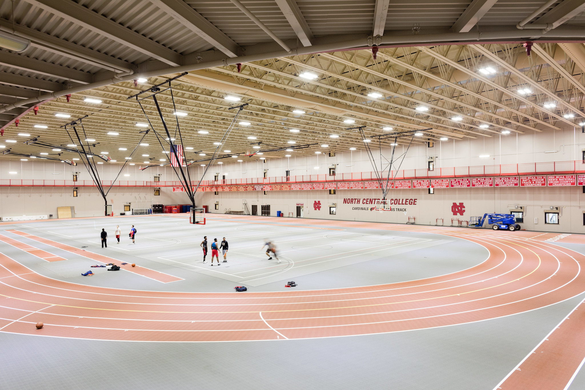 Res/Rec arena at North Central College